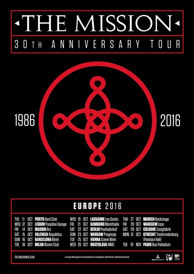THE MISSION_30 Anniversary Tour